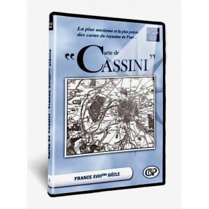 DVD CARTE DE CASSINI