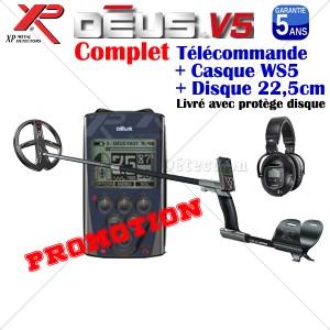 DEUS V4 Complet Disque 22,5 cm Casque WS5