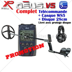 DEUS V4 Complet Disque 28 cm Casque WS5