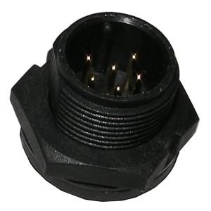 Connecteur boîtier nylon à visser (4 kHz)