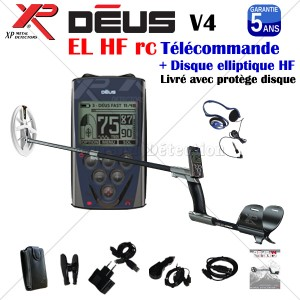 DEUS RC V5 Disque HF Elliptique