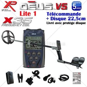 DEUS RC V5 Disque 22,5 cm X35