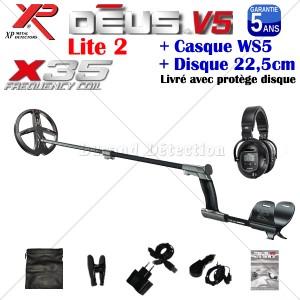DEUS WS5 V5 Disque 22,5 cm X35